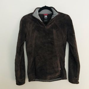 The North Face Chocolate Brown Pullover Size XS
